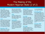 the making of the modern nigerian state 2 of 2