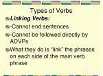 types of verbs4