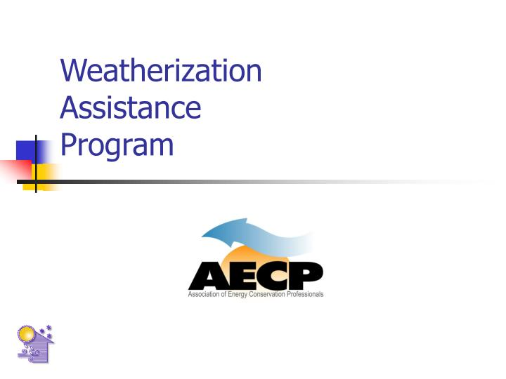 weatherization assistance program n.