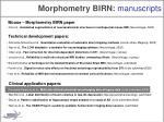 morphometry birn manuscripts3