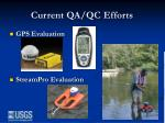 current qa qc efforts2