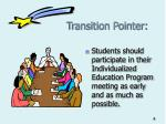transition pointer
