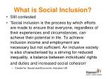 what is social inclusion