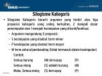 silogisme kategoris