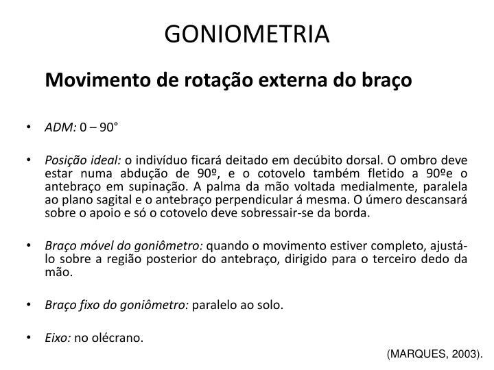 GONIOMETRIA