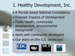 i healthy development inc
