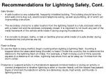 recommendations for lightning safety cont1
