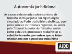 autonomia jurisdicional