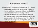 autonomia relativa