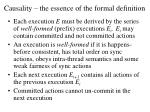 causality the essence of the formal definition