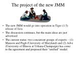 the project of the new jmm