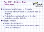 plan 2004 projects team deliverables1