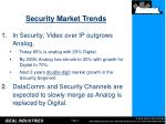 security market trends