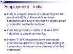 employment india