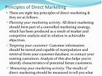 principles of direct marketing