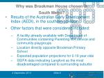 why was brookman house chosen in south metro