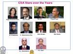 csa stars over the years