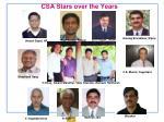 csa stars over the years1