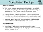 consultation findings1