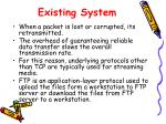existing system1