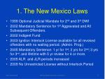 1 the new mexico laws
