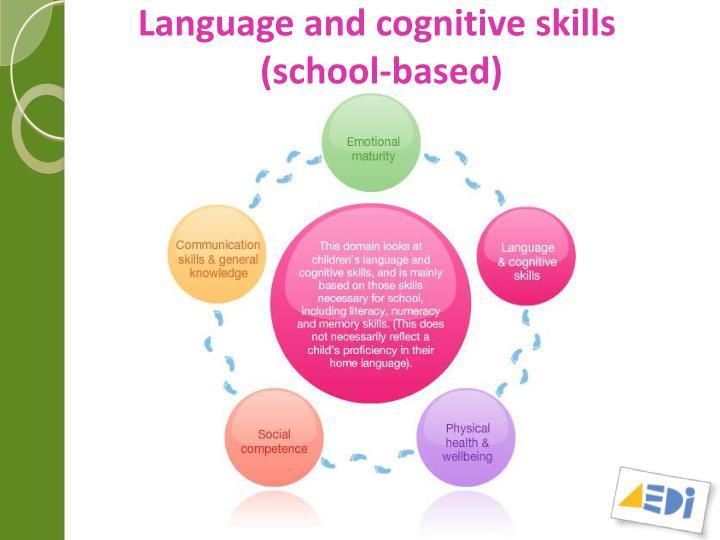 Language and cognitive skills