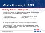 what s changing for 201310