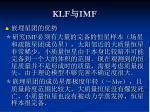 klf imf1