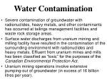 water contamination