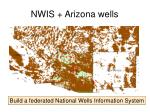 nwis arizona wells