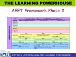 aeet framework phase 2
