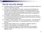 social security design
