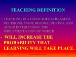 teaching definition3