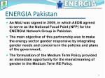 energia pakistan