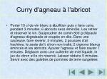 curry d agneau l abricot