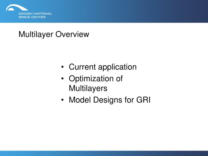 multilayer overview n.