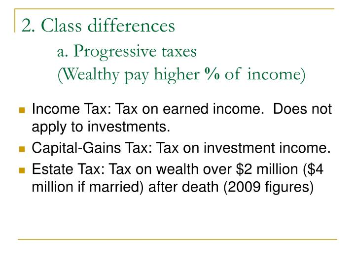 essay on progressive tax Under-employment is a major problem of the human species in much of the world, people are idle who need meaningful work under-employment has three components: • not employed - desires employment • employed part time - desires full time employment • employment in non-essential efforts q.