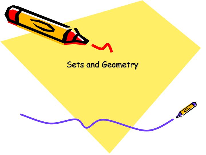 sets and geometry n.