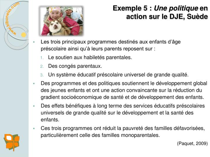 Exemple 5 :