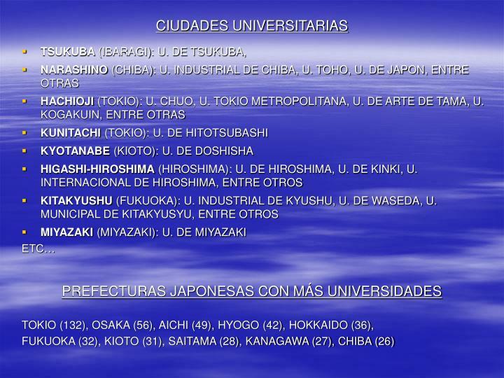 CIUDADES UNIVERSITARIAS