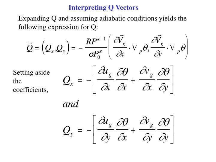 Interpreting Q Vectors