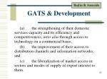 gats development