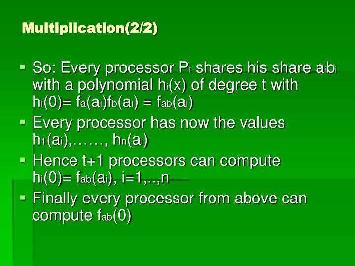Multiplication(2/2)