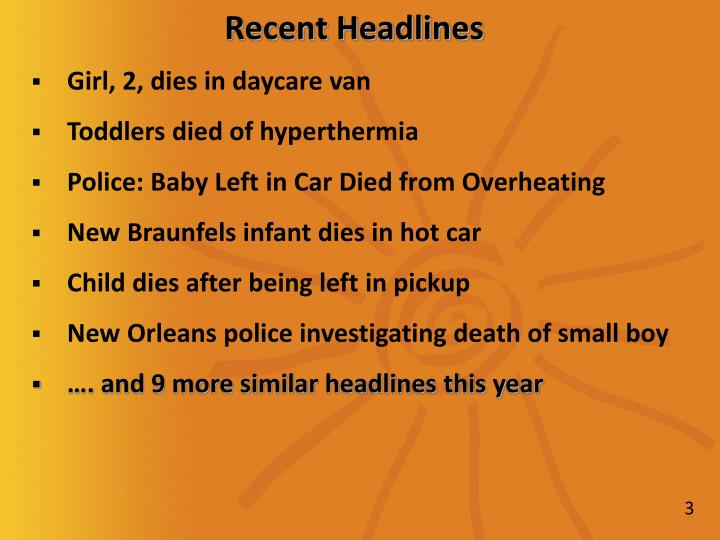 Recent headlines