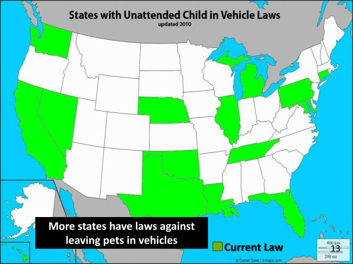 More states have laws against