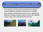 objetivos espec ficos 20081