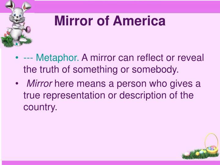 Mirror of america