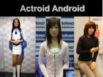 actroid android