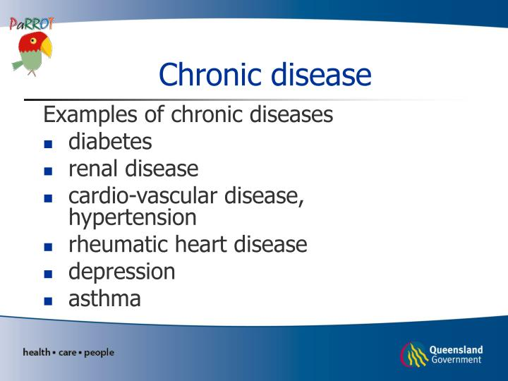 Ppt Introduction To Chronic Disease Powerpoint Presentation Id