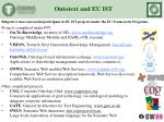 ontotext and eu ist